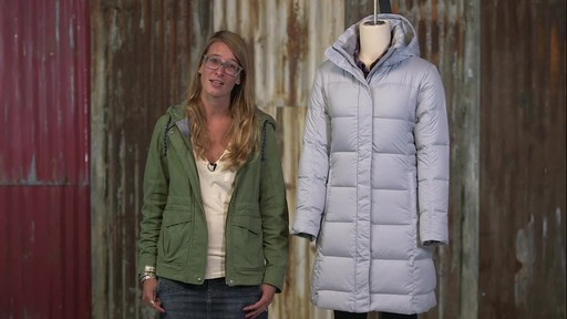 Patagonia Womens Down With It Parka - image 10 from the video