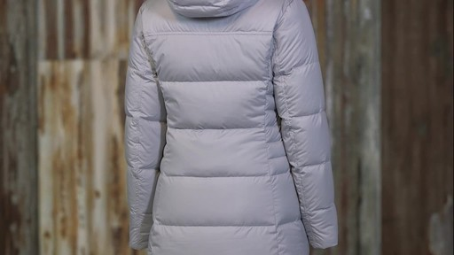 Patagonia Womens Down With It Parka - image 3 from the video