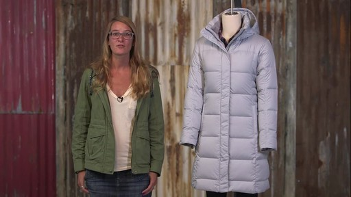 Patagonia Womens Down With It Parka - image 5 from the video