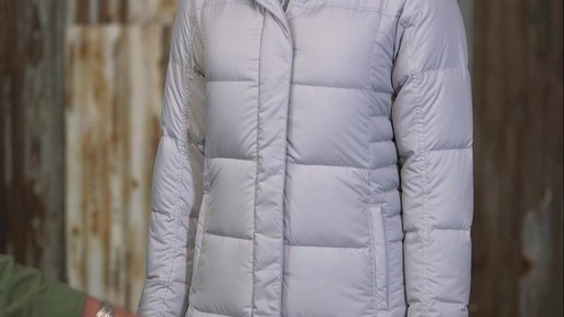 Patagonia Womens Down With It Parka - image 8 from the video