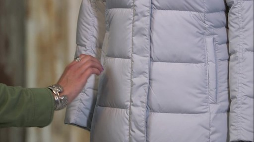 Patagonia Womens Down With It Parka - image 9 from the video