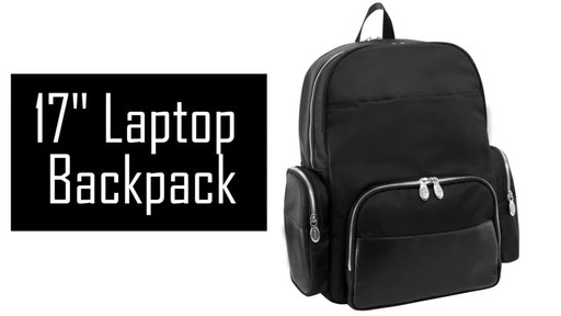 McKlein USA Cumberland Laptop Backpack - image 2 from the video