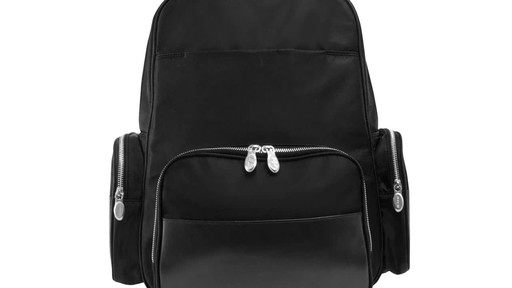 McKlein USA Cumberland Laptop Backpack - image 3 from the video
