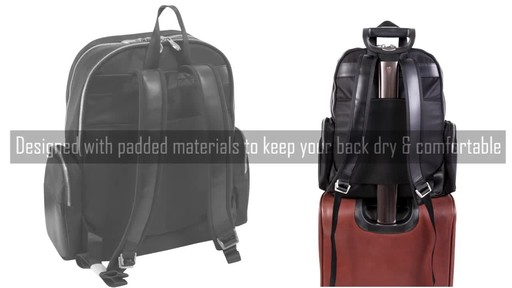 McKlein USA Cumberland Laptop Backpack - image 4 from the video