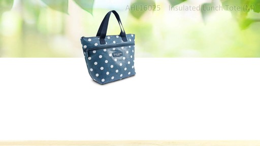 Jacki Design Polka Dot Insulated Lunch Bags - Shop eBags.com - image 2 from the video