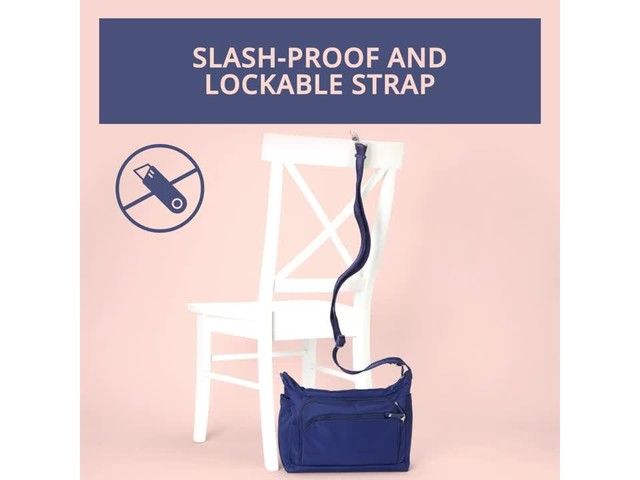 eBags Anti-Theft Carry All Crossbody - image 10 from the video