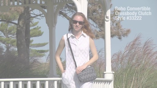 Travelon Anti-Theft Boho Convertible Crossbody Clutch - image 1 from the video