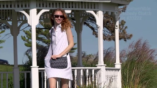 Travelon Anti-Theft Boho Convertible Crossbody Clutch - image 2 from the video