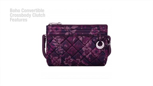 Travelon Anti-Theft Boho Convertible Crossbody Clutch - image 3 from the video