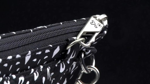 Travelon Anti-Theft Boho Convertible Crossbody Clutch - image 4 from the video