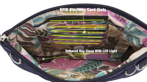 Travelon Anti-Theft Boho Convertible Crossbody Clutch - image 8 from the video