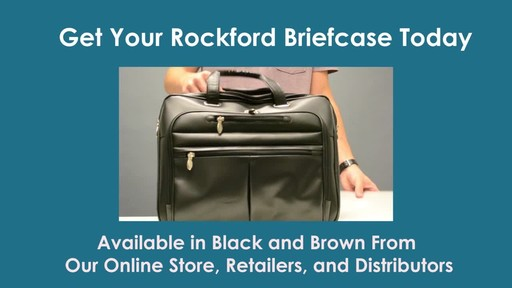 McKlein USA R Series Rockford Leather Laptop Case - image 10 from the video