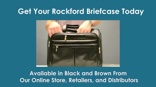 McKlein USA R Series Rockford Leather Laptop Case - image 9 from the video