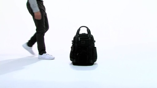 Tumi Alpha Bravo Lejeune Backpack Tote - eBags.com - image 1 from the video