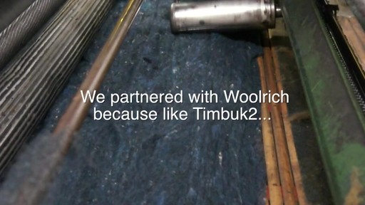 Timbuk2 - Woolrich - image 3 from the video