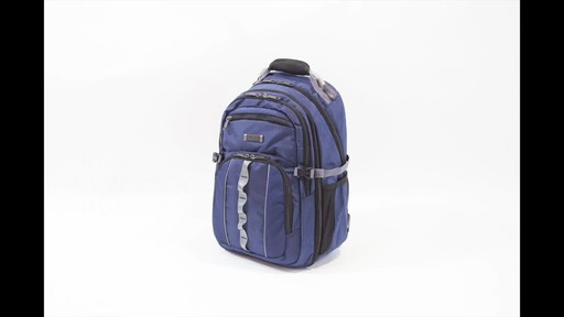 Kenneth Cole Reaction Pack Down Business Backpack - image 1 from the video