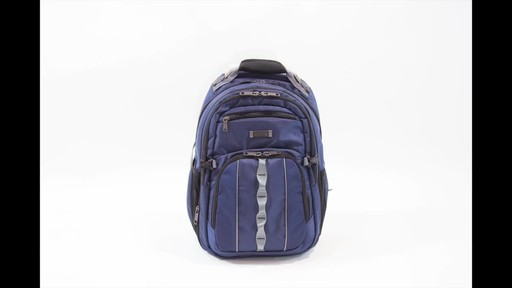 Kenneth Cole Reaction Pack Down Business Backpack - image 10 from the video