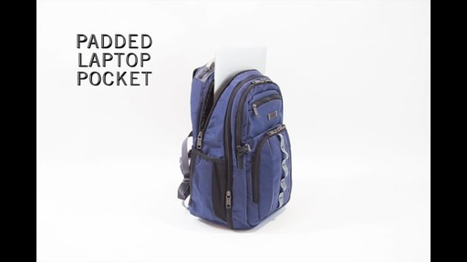 Kenneth Cole Reaction Pack Down Business Backpack - image 3 from the video