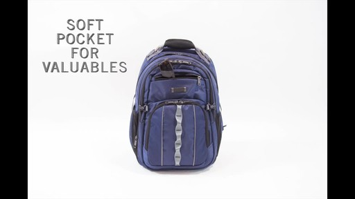 Kenneth Cole Reaction Pack Down Business Backpack - image 4 from the video