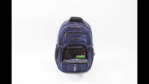 Kenneth Cole Reaction Pack Down Business Backpack - image 5 from the video