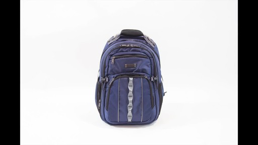 Kenneth Cole Reaction Pack Down Business Backpack - image 6 from the video