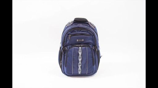 Kenneth Cole Reaction Pack Down Business Backpack - image 7 from the video