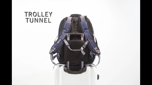 Kenneth Cole Reaction Pack Down Business Backpack - image 8 from the video