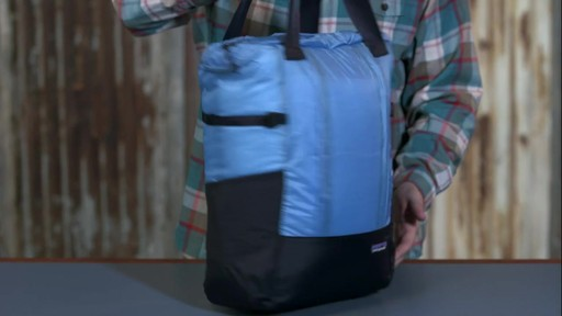 Patagonia Lightweight Travel Tote Pack - on eBags.com - image 9 from the video