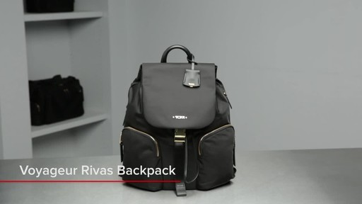 Tumi Voyageur Rivas Backpack - image 1 from the video