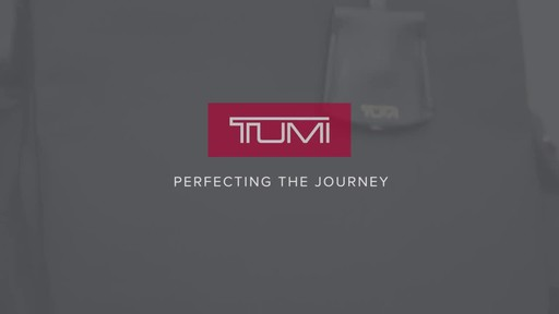Tumi Voyageur Rivas Backpack - image 10 from the video