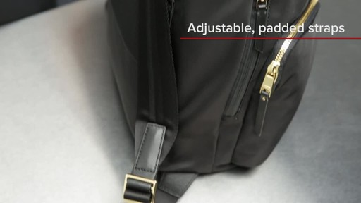 Tumi Voyageur Rivas Backpack - image 2 from the video
