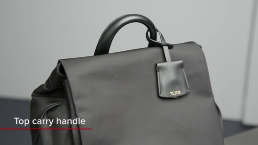 Tumi Voyageur Rivas Backpack - image 3 from the video