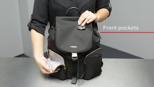 Tumi Voyageur Rivas Backpack - image 4 from the video