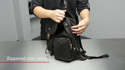 Tumi Voyageur Rivas Backpack - image 5 from the video