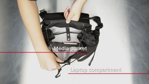 Tumi Voyageur Rivas Backpack - image 9 from the video