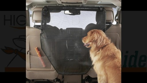 High Road Wag 'n ride Dog Car Barrier - eBags.com - image 1 from the video