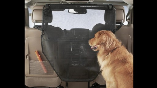 High Road Wag 'n ride Dog Car Barrier - eBags.com - image 2 from the video