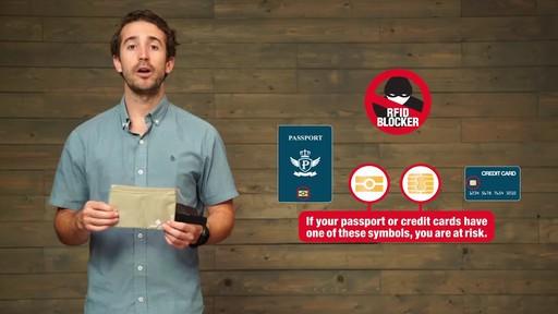 Eagle Creek RFID Blocker Hidden Pocket - image 4 from the video