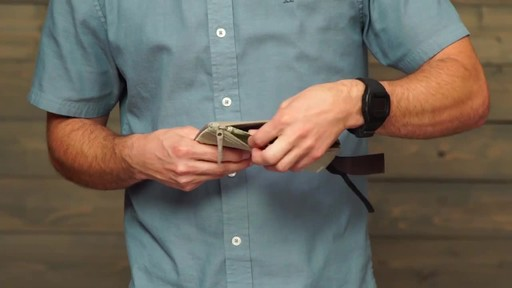 Eagle Creek RFID Blocker Hidden Pocket - image 5 from the video