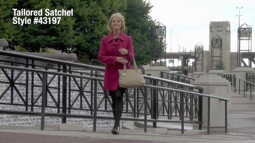 Travelon Anti-Theft Tailored Satchel - image 1 from the video