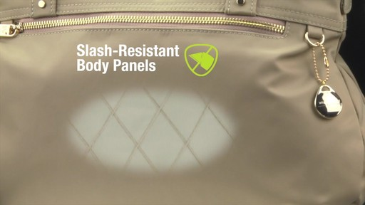 Travelon Anti-Theft Tailored Satchel - image 6 from the video