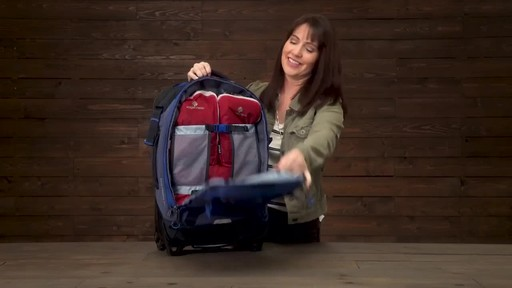 Eagle Creek Gear Warrior Wheeled Duffel Collection - image 4 from the video