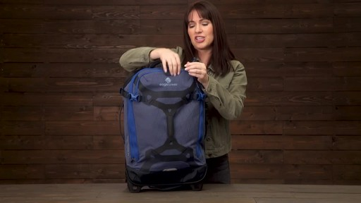 Eagle Creek Gear Warrior Wheeled Duffel Collection - image 6 from the video