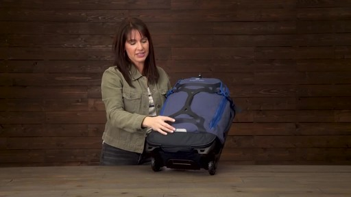 Eagle Creek Gear Warrior Wheeled Duffel Collection - image 8 from the video
