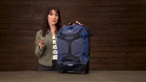 Eagle Creek Gear Warrior Wheeled Duffel Collection - image 9 from the video