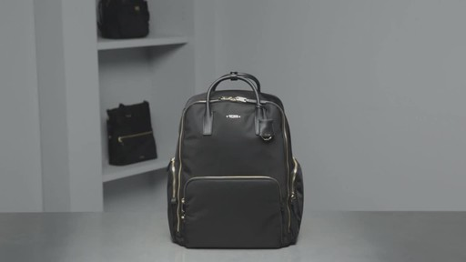 Tumi Voyageur Ursula T-Pass Backpack - image 10 from the video