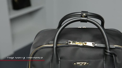 Tumi Voyageur Ursula T-Pass Backpack - image 2 from the video