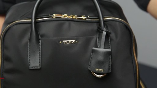 Tumi Voyageur Ursula T-Pass Backpack - image 7 from the video