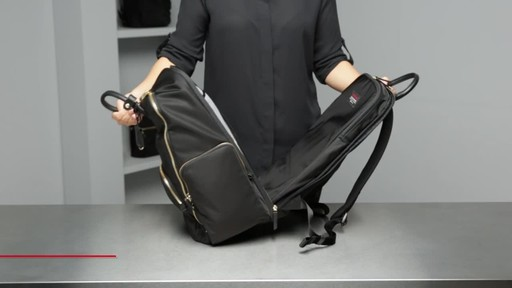 Tumi Voyageur Ursula T-Pass Backpack - image 8 from the video