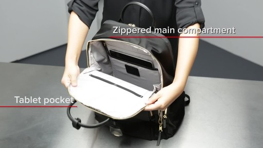 Tumi Voyageur Ursula T-Pass Backpack - image 9 from the video